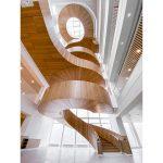 Raaschou har bygget en fænomenal trappe i Hempels nye hovedkontor i Kgs. Lyngby